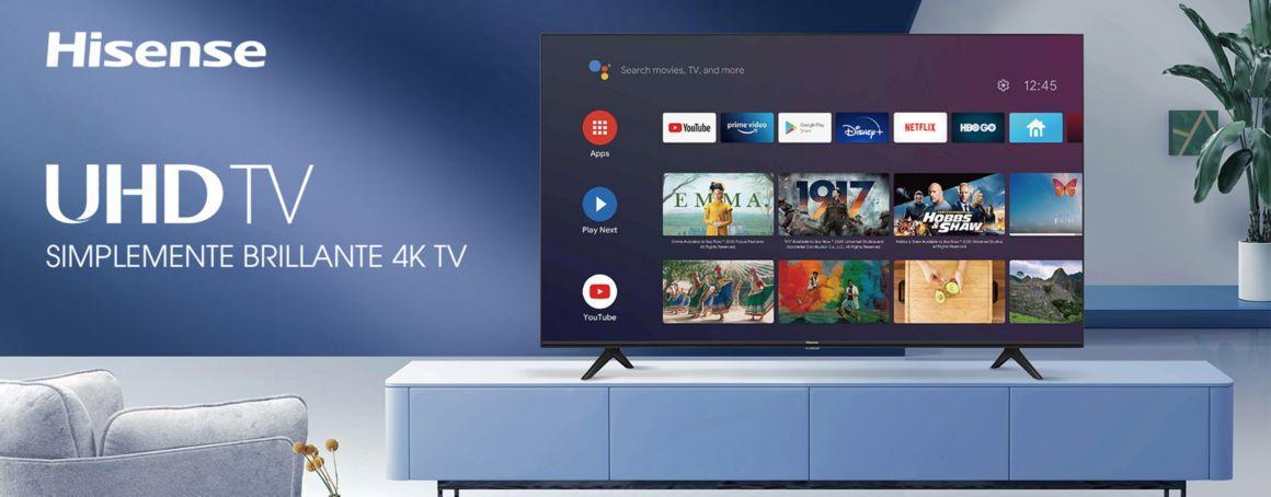 Televisor Hisense A6 Smart TV android 4K