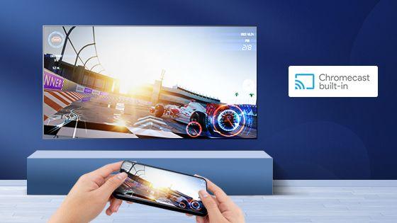 Comparte la pantalla de tu televisor con chromecast