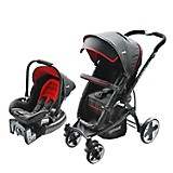 Coche Travel System Aspen Air Rojo