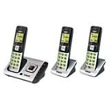 Tel�fono Inal�mbrico Triple Aur - Cs-6729-3
