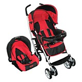 Travel System Cross Rojo