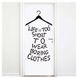 Boring clothes vinilo autoadhesivo
