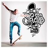 Skate or die vinilo autoadhesivo