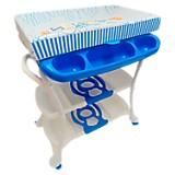 Bañera Cartas Azul