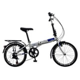 Bicicleta plegable city s6