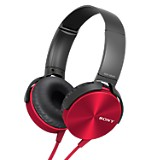 Audífonos Extra Bass MDR-XB450 Rojo