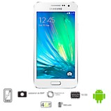 Celular Libre Galaxy A3 Blanco