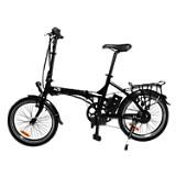 Bicicleta El�ctrica Kuo Negra