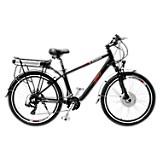 Bicicleta de Montaña Negra Mate Extreme V Brake Rin 26 pulgadas
