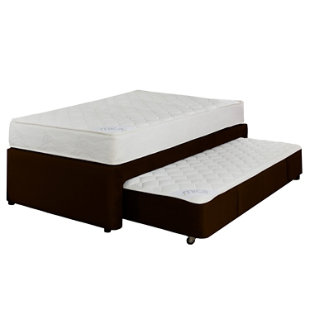 Mica set plenitud cama div n doble caf for Falabella divan