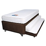 Set Twin Bed Master Semidoble Café
