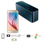 Celular Libre Galaxy S6 32GB Blanco + Level Box Mini