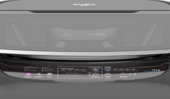 Panel de control de lavadora de 14 Kg Whirlpool Intelligent