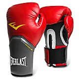 Guantes boxeo pro styles rojo con gris