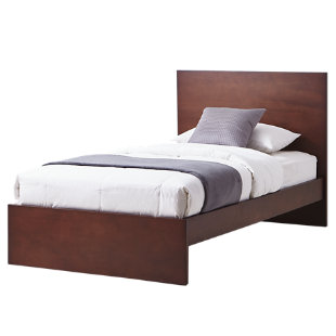 Mica cama santorini semidoble wengue for Cama semidoble