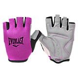 Guantes speed color fucsia y negro