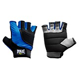 Guantes alpino color negro y azul