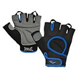 Guantes para pesas lamda color negro y azul