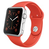Watch Sport Aluminio 42 mm Plateado y Naranja