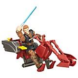 Figura Hero Masher Anakin Skywalker con Deslizador Jedi
