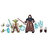 Figuras Hero Masher Yoda y Emperador Palpatine