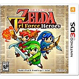 Videojuego The Legend of Zelda Tri Force Heroes