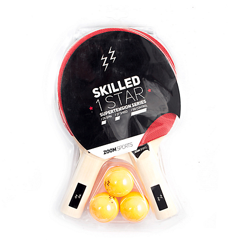 Set Tenis Mesa Skille 1 Star Net