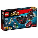 Ataque en el Submarino de cr�neo de Hierro Lego