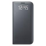 Funda LED View Cover para Galaxy S7 Edge Negro