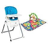 Combo Infanti Comedor R2490 Sky + Playgro Gimnasio Estimula Risitas Beach