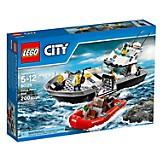 Lego City Barco Patrulla de Polic�a