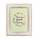 Cuadro White Washed Sweet Home 33x39 cm