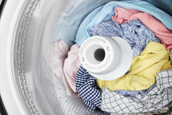 Doble acción de agitación con mejores resultados de lavado.