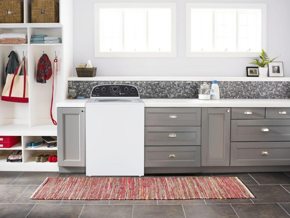 Lavadora Xpert System de Alta Eficiencia de 19 Kg color Blanco