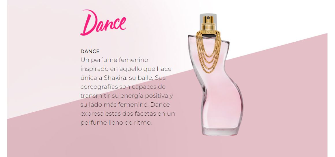Shakira Dance, mujer, women, perfume, colonia, fragancia, edt