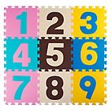 Tapete de Foami Numeros Mod 2  - 9 piezas