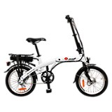 Bicicleta Plegable Basic Blanca Rin 18 pulgadas