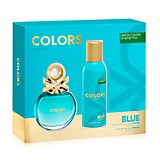 Perfume Colors Blue 80 ml + Desodorante 150 ml