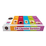 Pack Surtido de cápsulas Nescafé 24