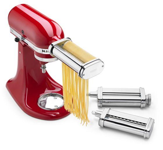 Propiedades del  Set rodillos para pasta de KitchenAid