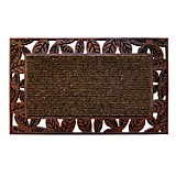 Felpudo Luxury Collection Hojas 45x75 cm