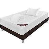 Combo PillowTop + Base Salinent Sencilla + Almohada + Protector de Spring