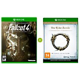 Combo Videojuego Fallout 4 + Videojuego Elder Scrolls