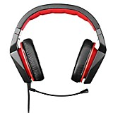 Headset Stereo y Gaming Rojo/Negro