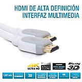 Cable HDMI HD 5.15 Mts Blanco