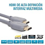 Cable HDMI HD 5.15 Mts Negro