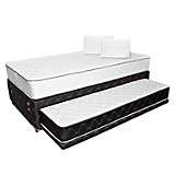 Diván Ergo T Semidoble + 2 Almohadas Soft Plus