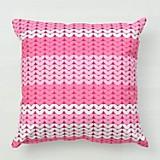 Cojín Tejido Pink 45x45