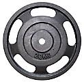 Disco Estándar 20 kg 1P con Agarre