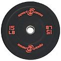 Disco Olimpico de 15 Libras en Caucho -71531
